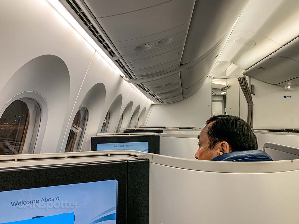 Xiamen Air business class cabin