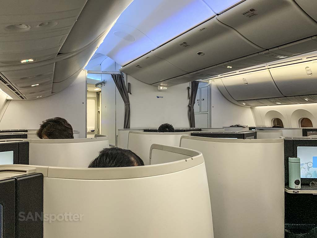 Xiamen Airlines 787 cabin