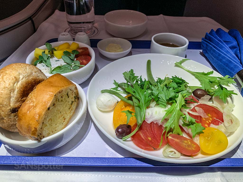 Xiamen Airlines food pics