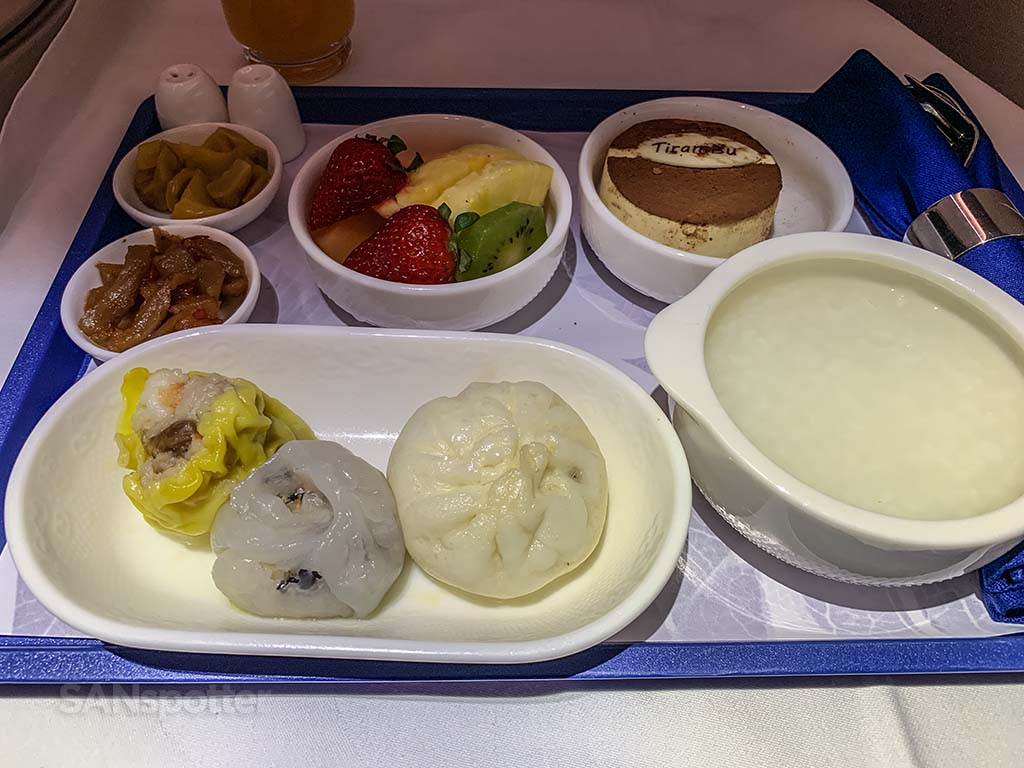 Xiamen Air breakfast pic