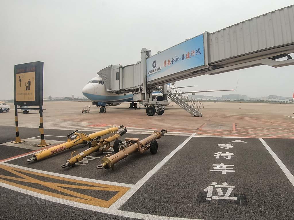 Xiamen Airlines 737-800 XMN airport