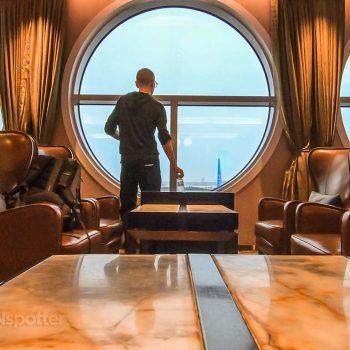 SANspotter selfie Xiamen Airlines lounge