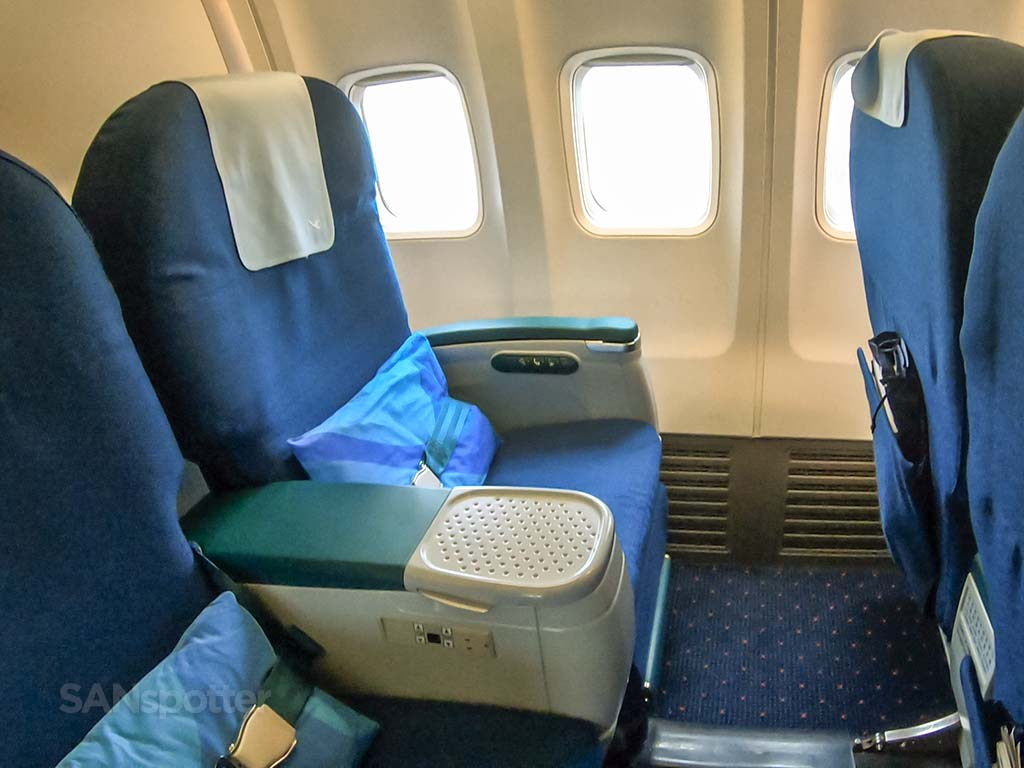 Xiamen Airlines 737-800 business class seats