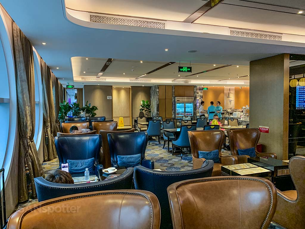Xiamen Airlines lounge XMN review