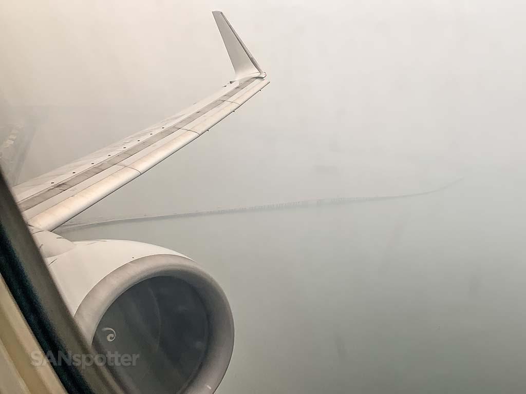 Xiamen airport takeoff