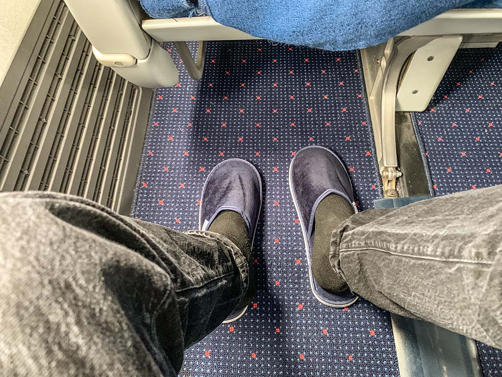 Xiamen Airlines slippers