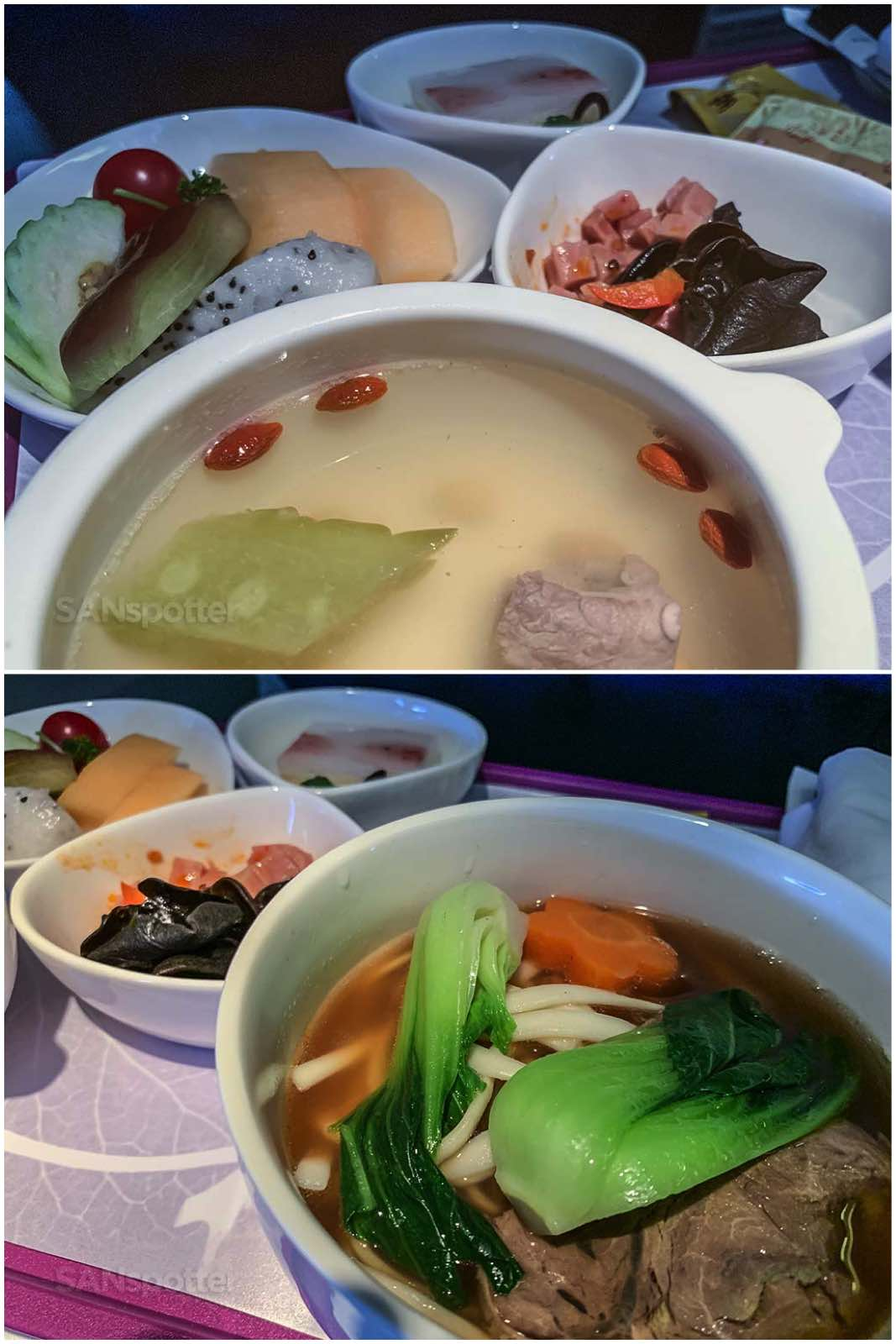 Xiamen Airlines food quality