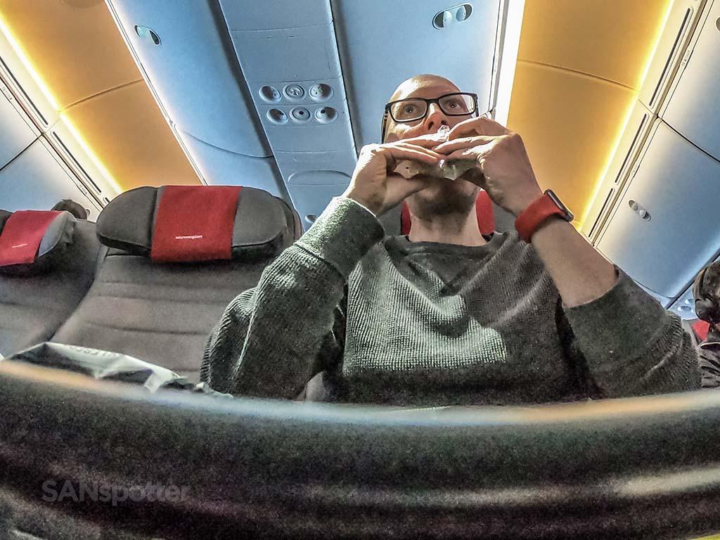 SANspotter empty seat economy class