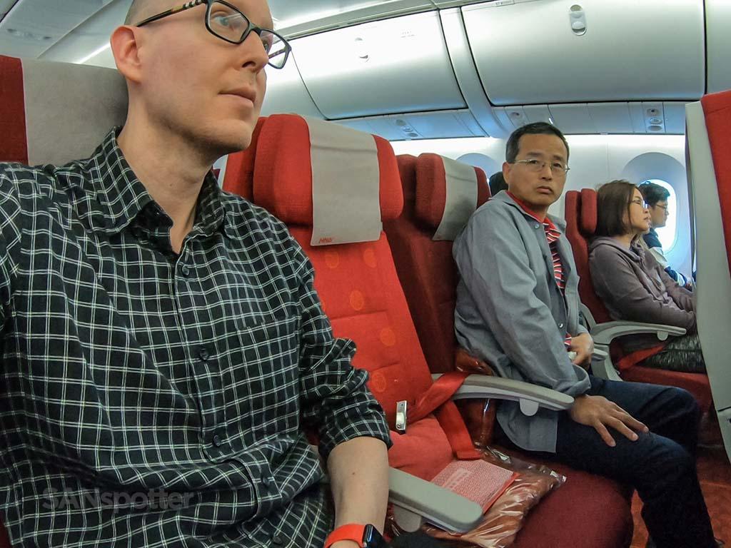 SANspotter selfie Hainan Airlines