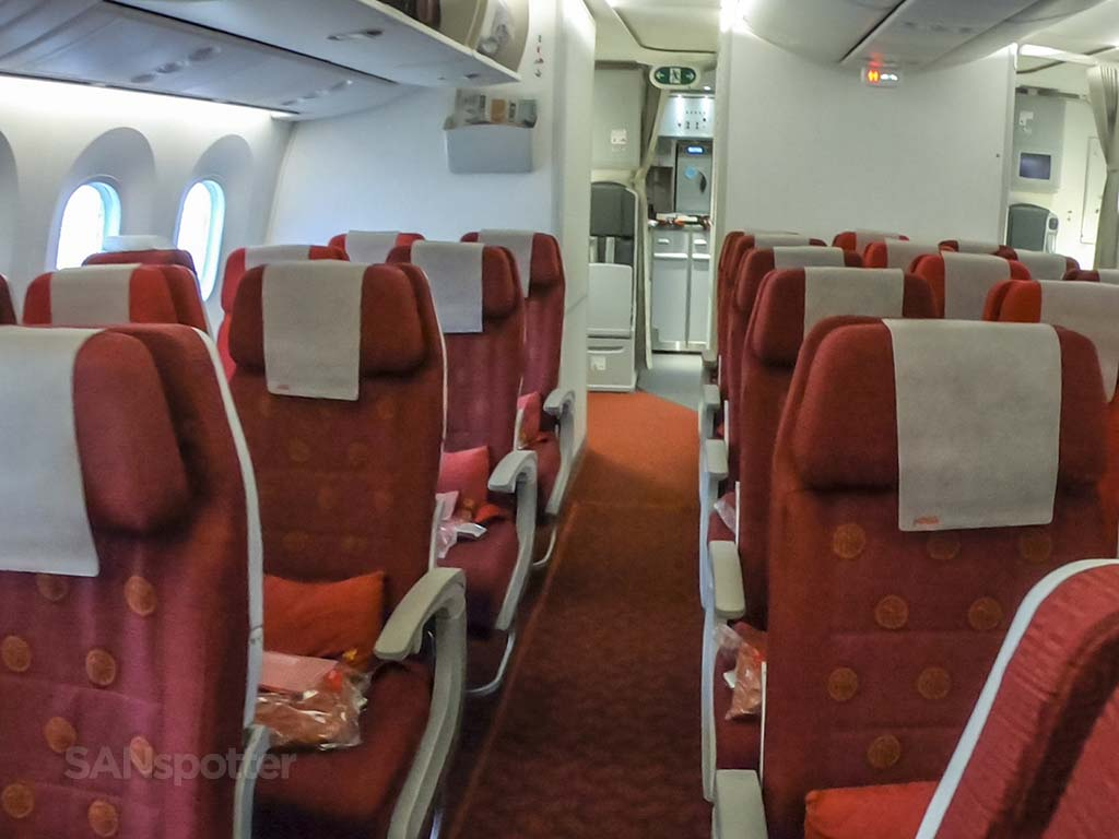 Hainan Airlines 787-9 interior