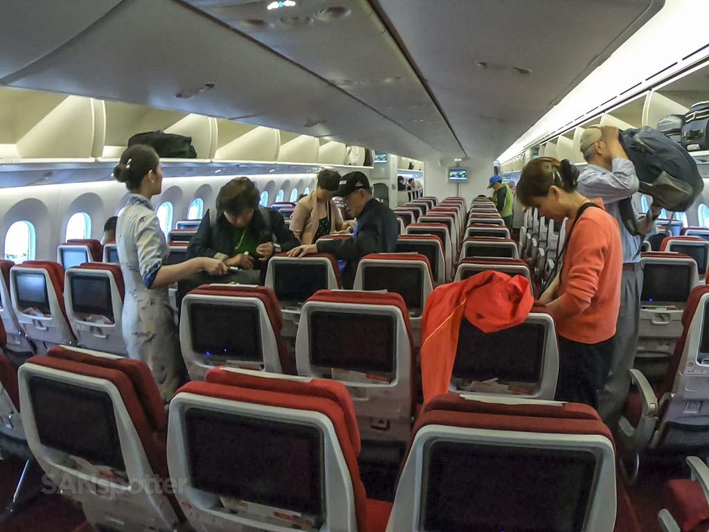 Hainan Airlines passengers
