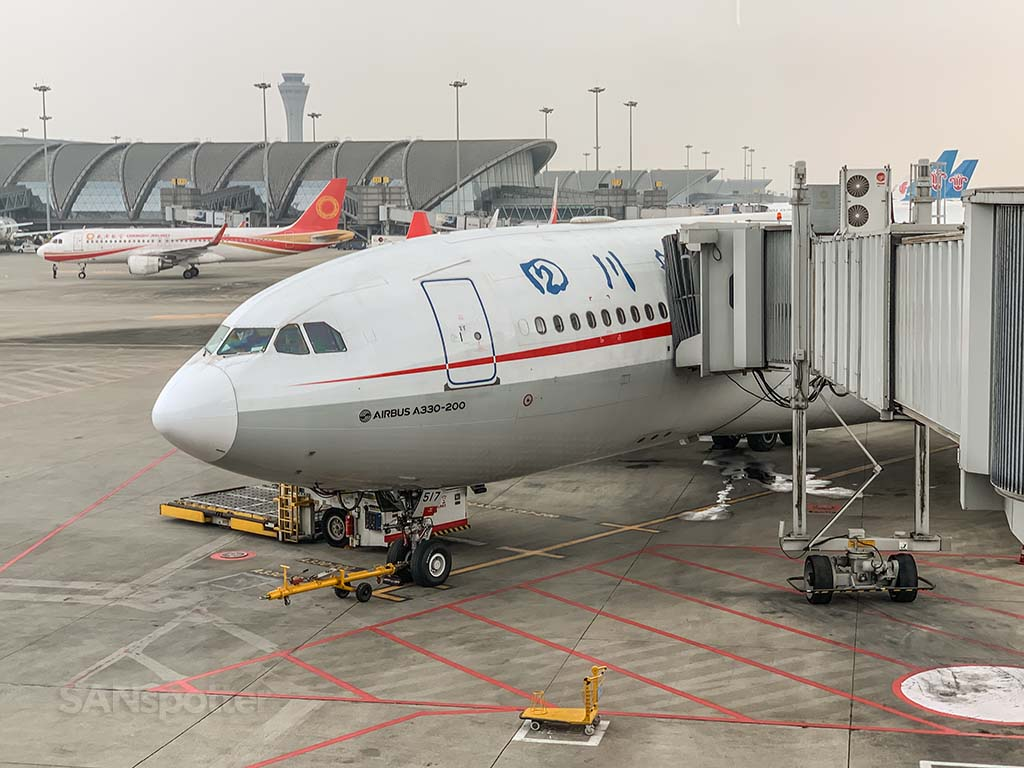 Sichuan Airlines a330-200 review