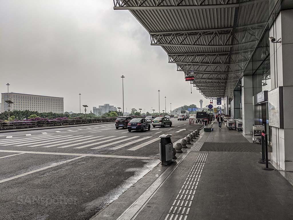 CTU airport exterior
