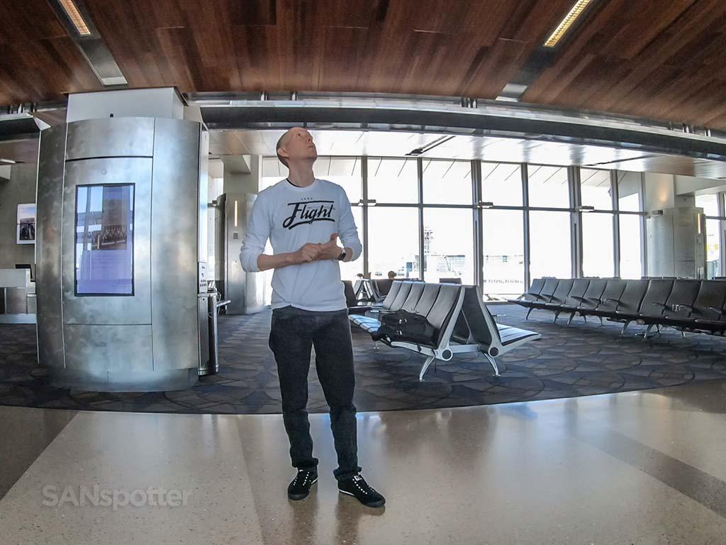 SANspotter selfie lax terminal