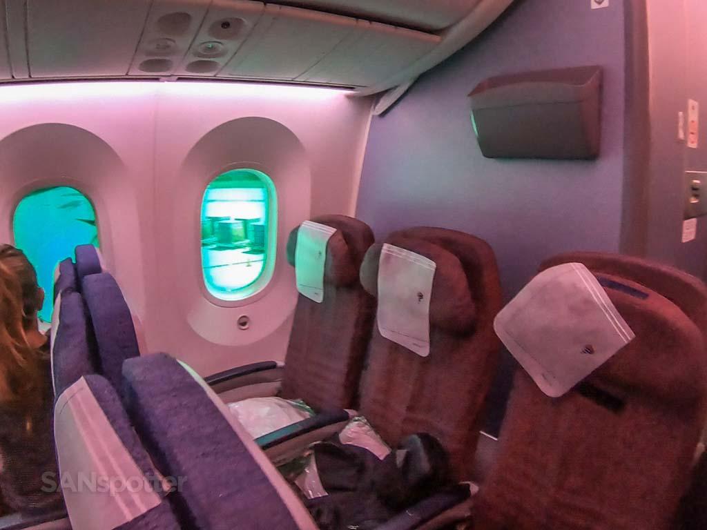 LATAM 787-8 seat 24L