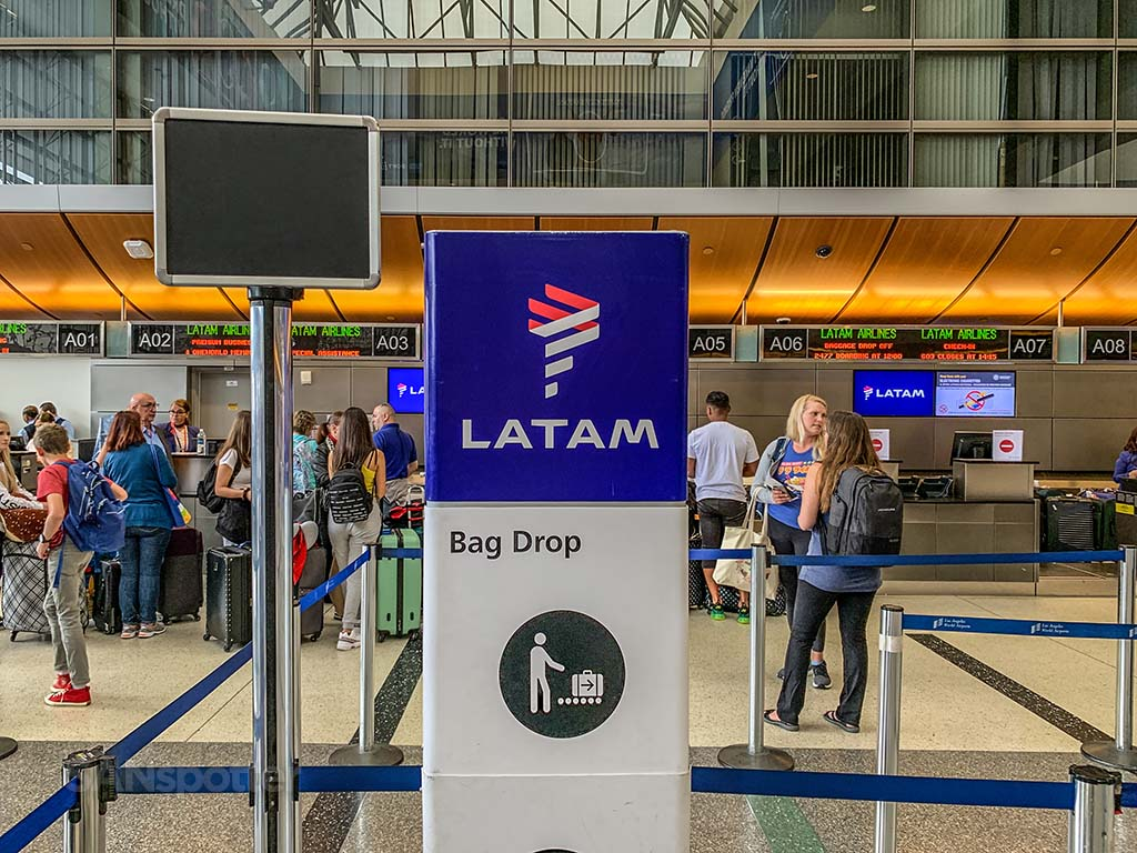Latam Airlines check in LAX