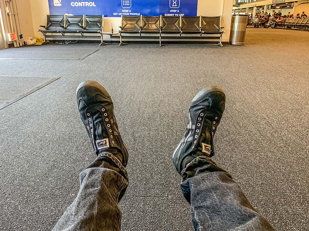 SANspotter travel shoes