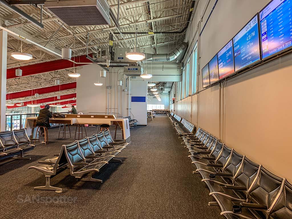 LAX remote boarding gates