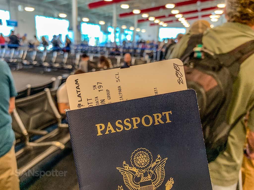 US passport LATAM airlines