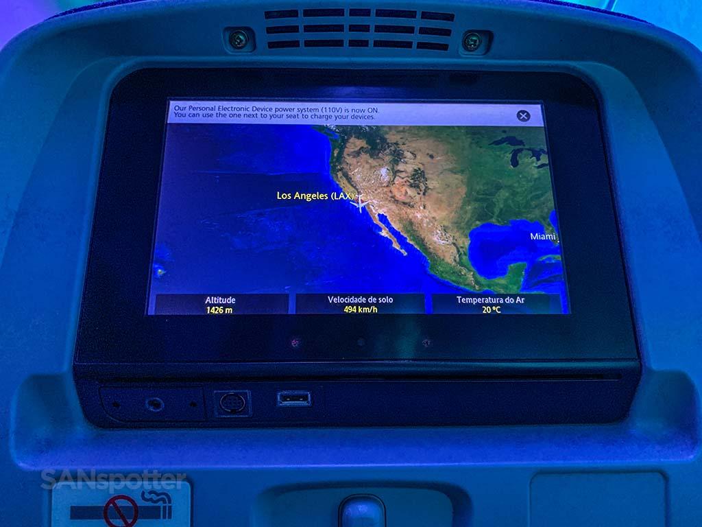 LATAM takeoff Los Angeles