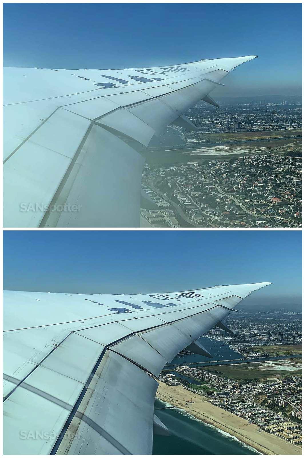 Latam 787-8 takeoff LAX