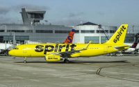 spirit airlines a320 yellow livery