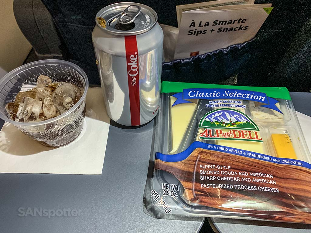 spirit airlines food
