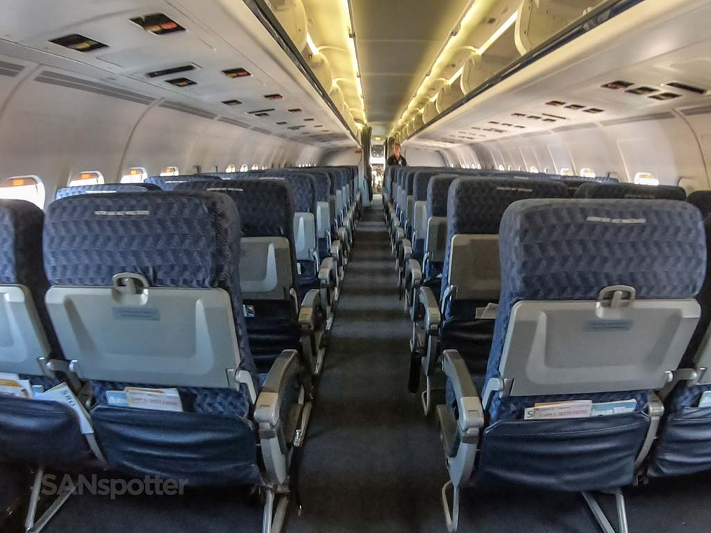 American Airlines super80 interior final flight