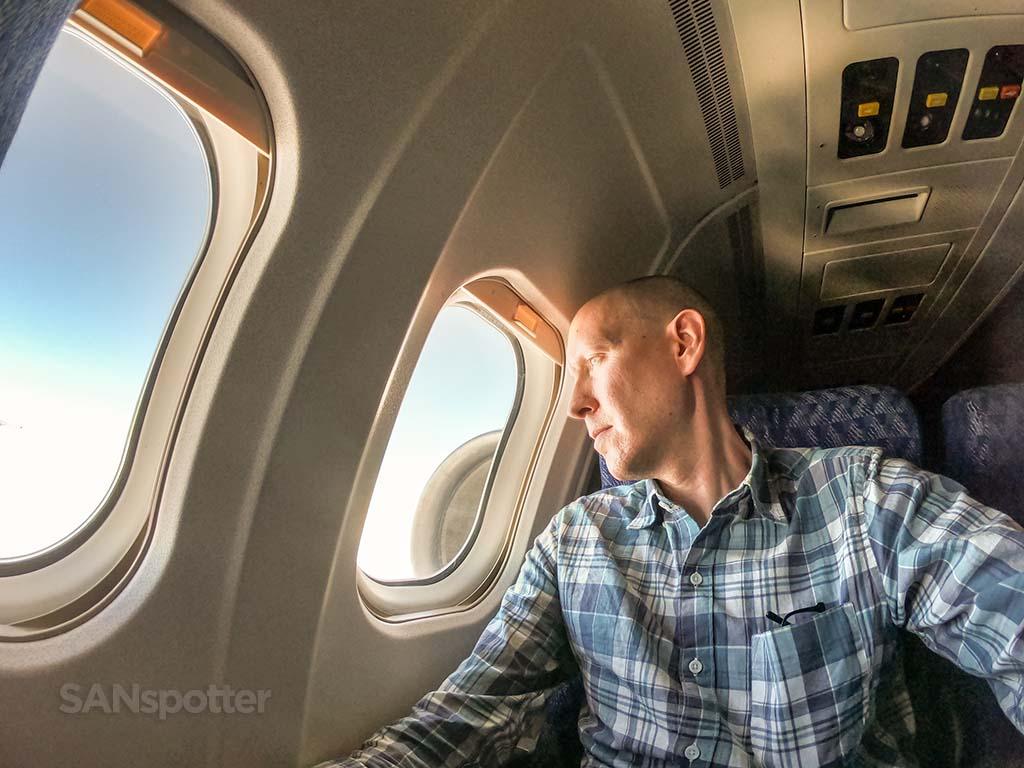 SANspotter selfie last American Airlines md80