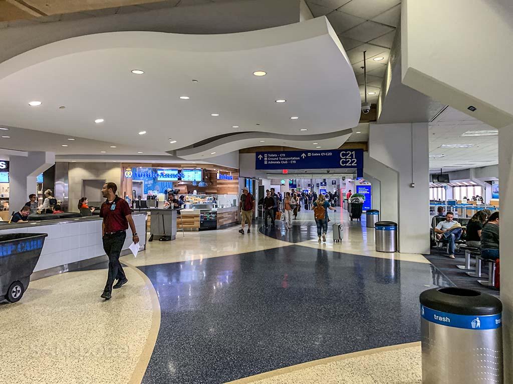 DFW Airport terminal c interior