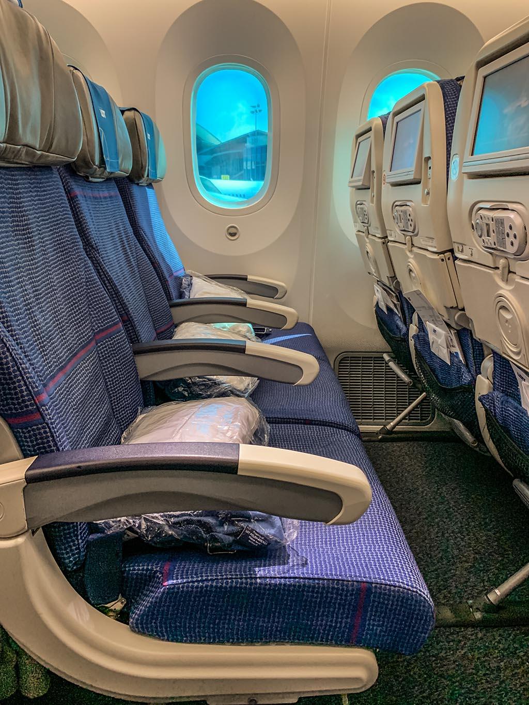 LOT 787 economy class