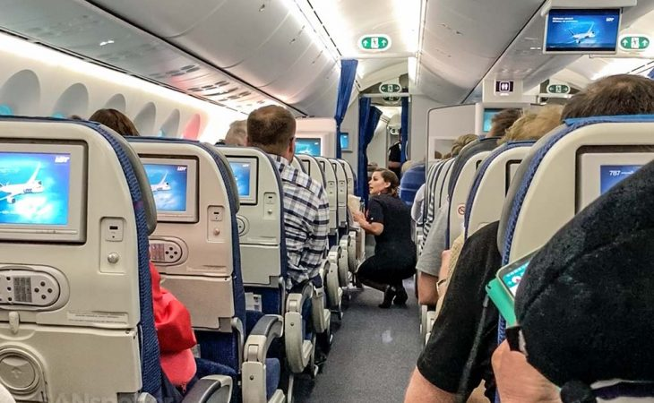 LOT Polish airlines cabin crew