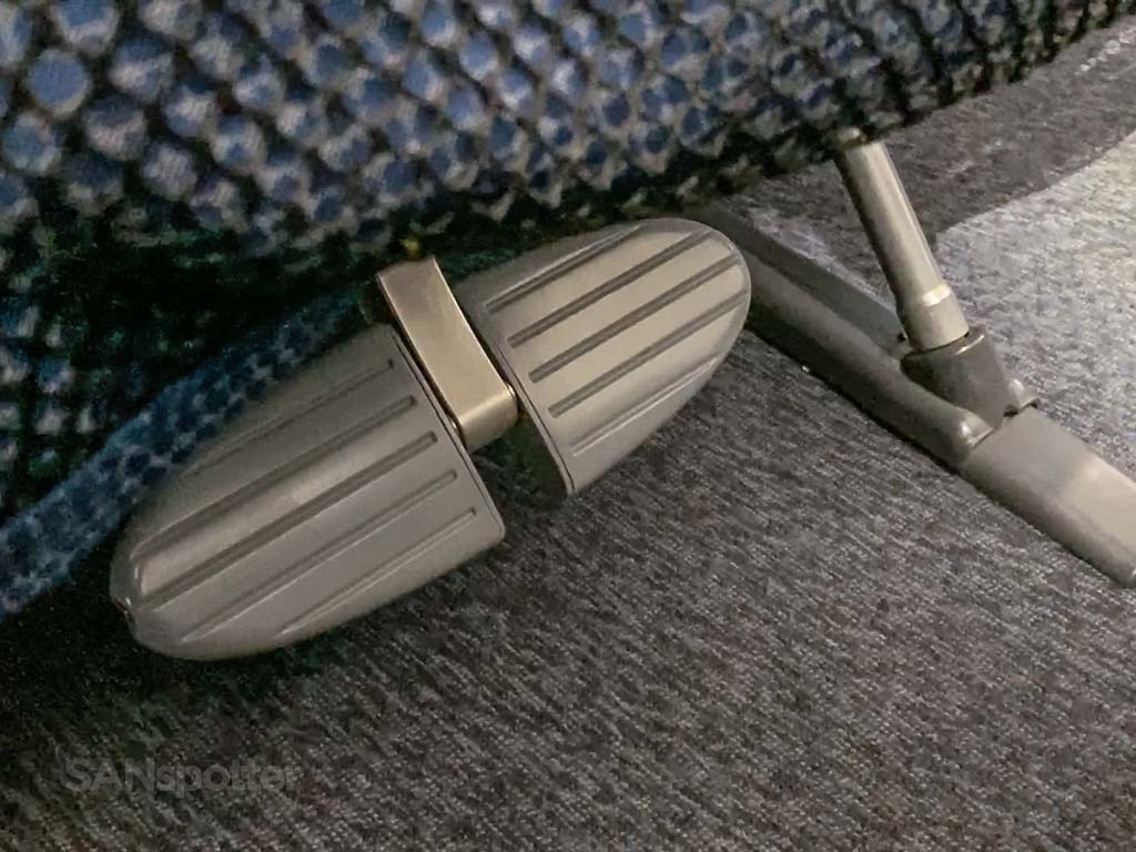 LOT economy class footrests