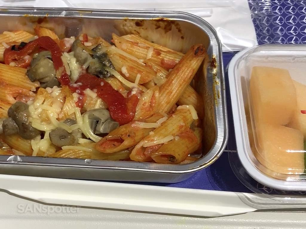 Lot polish airlines food