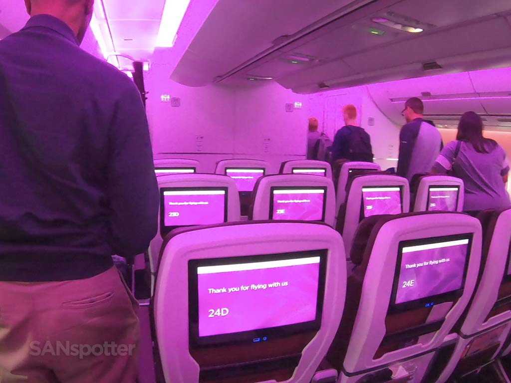 Virgin Atlantic a350 premium economy