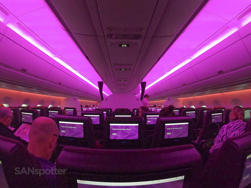 Virgin Atlantic a350 full review