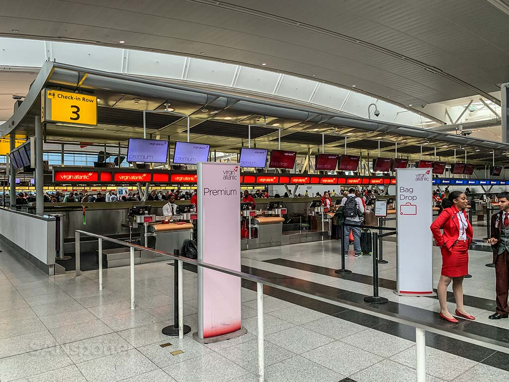 Virgin Atlantic check in JFK terminal 4
