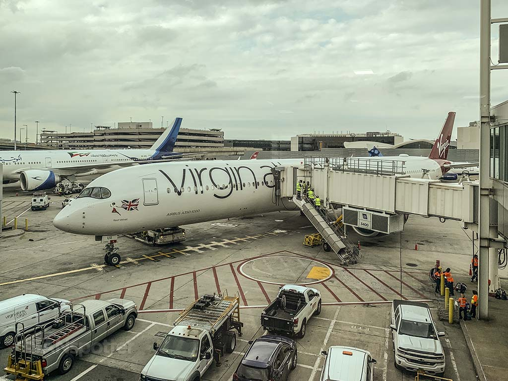 Virgin Atlantic A350 review JFK-LHR