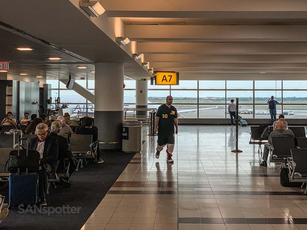 Terminal 4 JFK gate a7