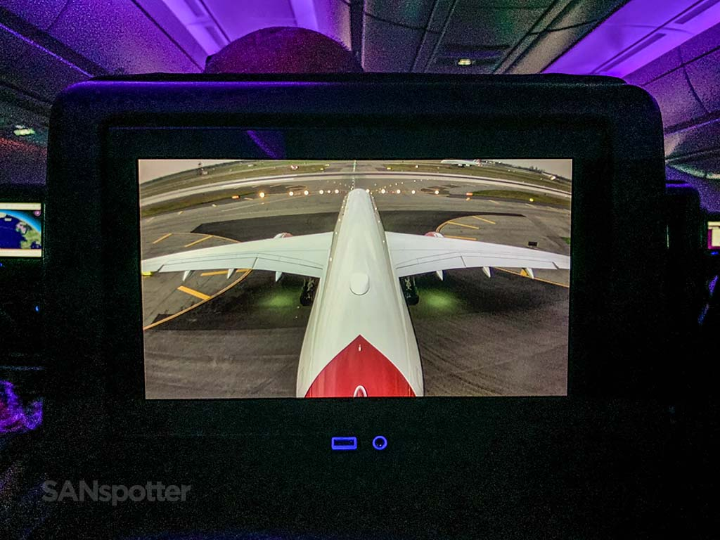 Virgin Atlantic A350 tail cam