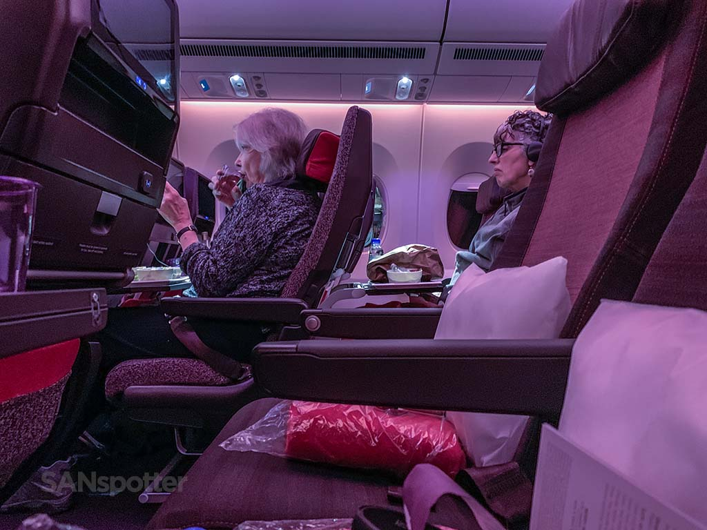 Virgin Atlantic a350 economy trip report
