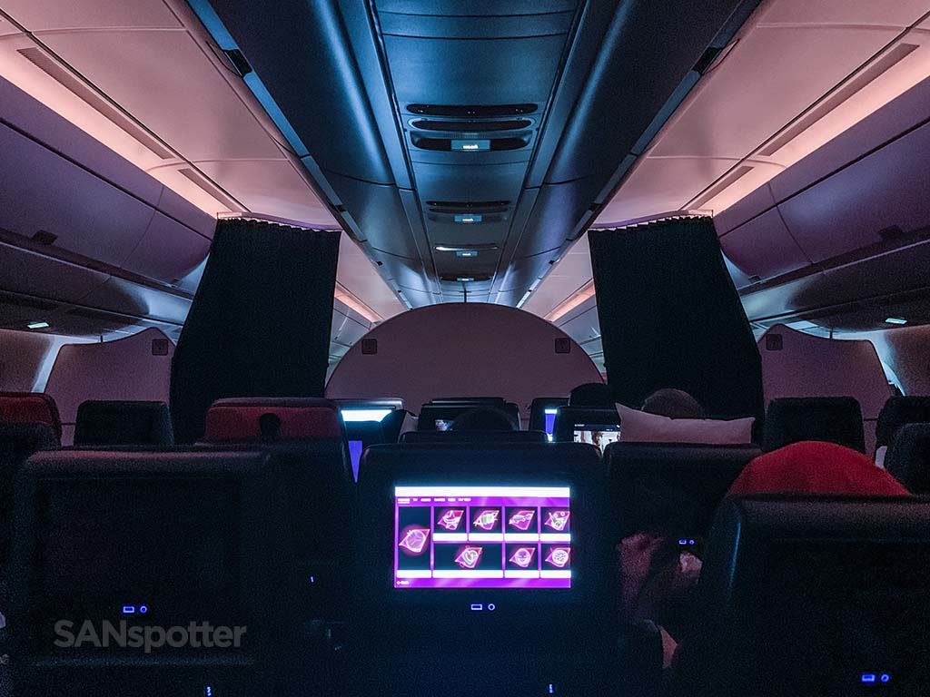 Flying Virgin Atlantic a350
