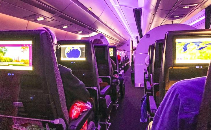 Virgin Atlantic a350 review