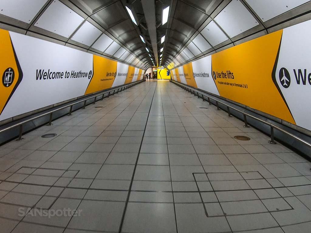 LHR tunnel