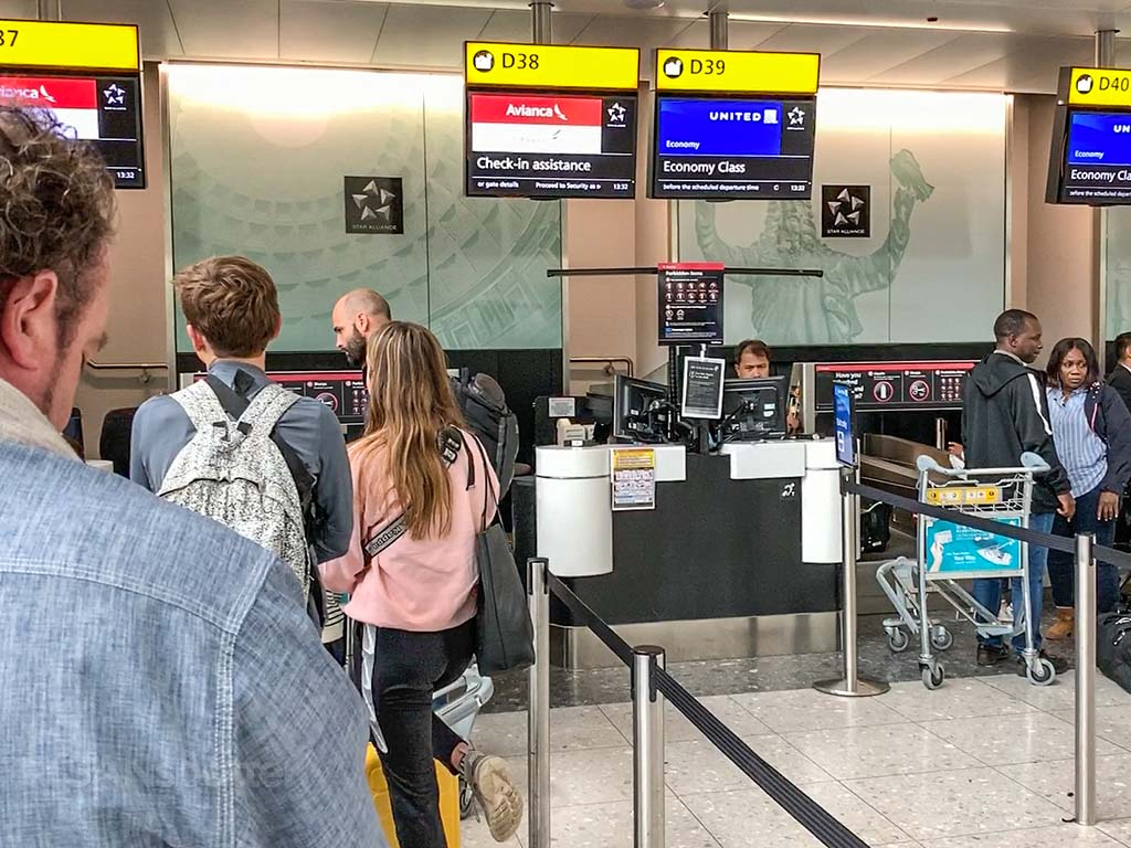 LHR customer service queue