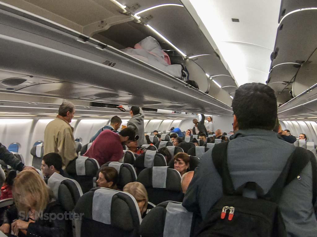 Avianca A330-200 economy class