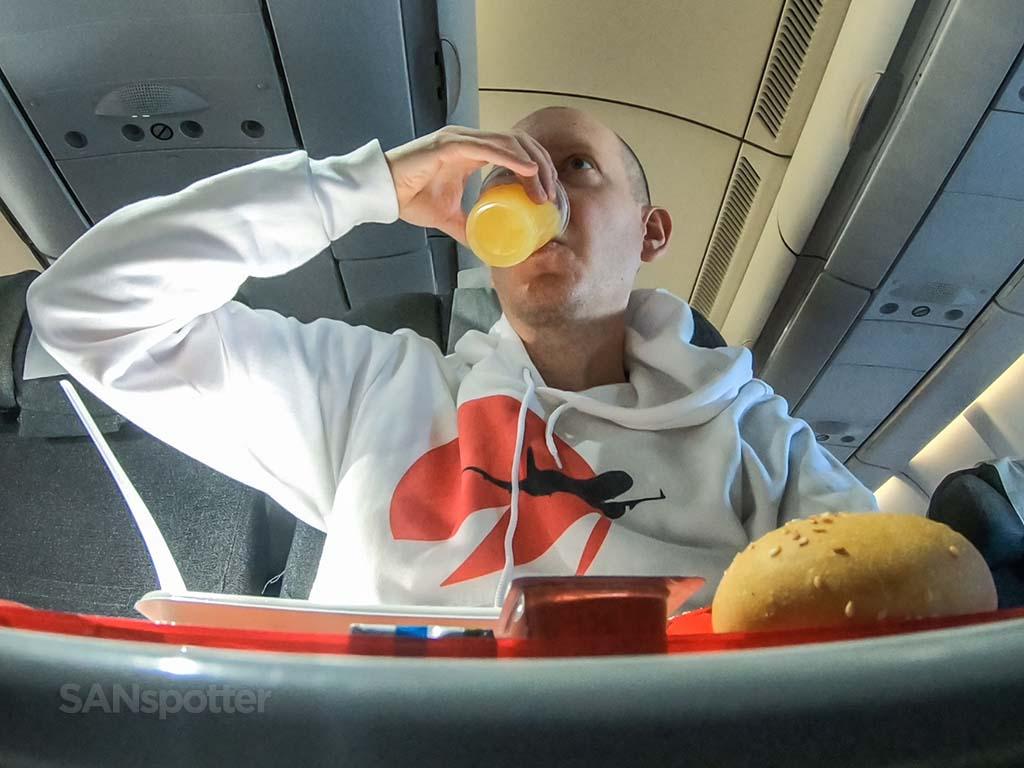 SANspotter selfie Avianca