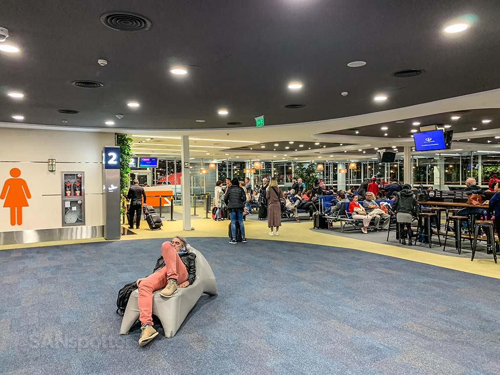Gate 2 terminal A EZE airport