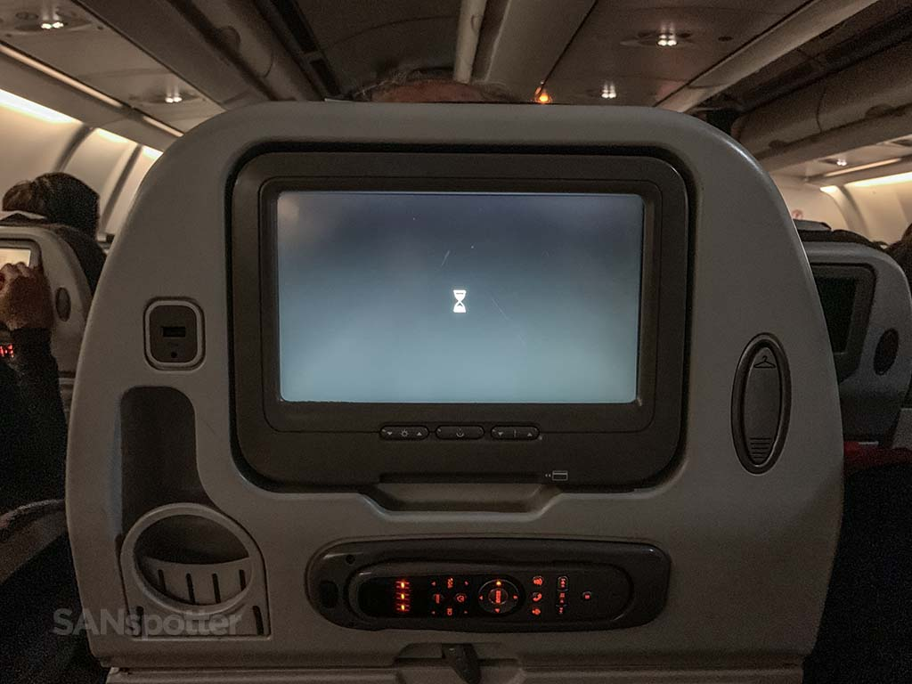 Avianca a330 video screens