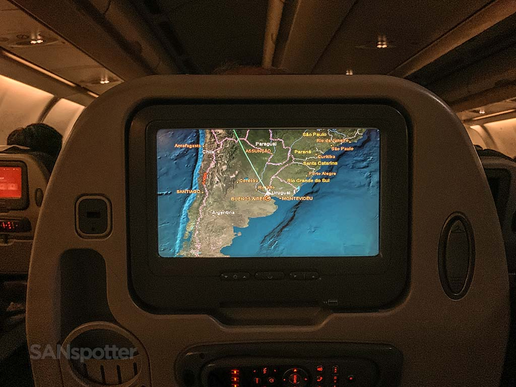 Avianca a330 video screen size